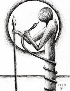 ich bin mir bewusst, dass ich meine inneren Zwänge wahrnehmen muss, um mich von ihnen zu befreien