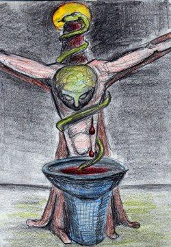 Das Ego am Kreuz seiner Triebe